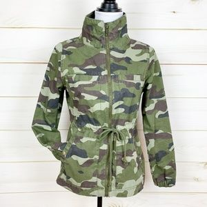 Old Navy Camo Field Jacket Utility